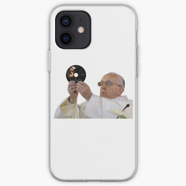 Pope Francis Loves Twilight iPhone Soft Case
