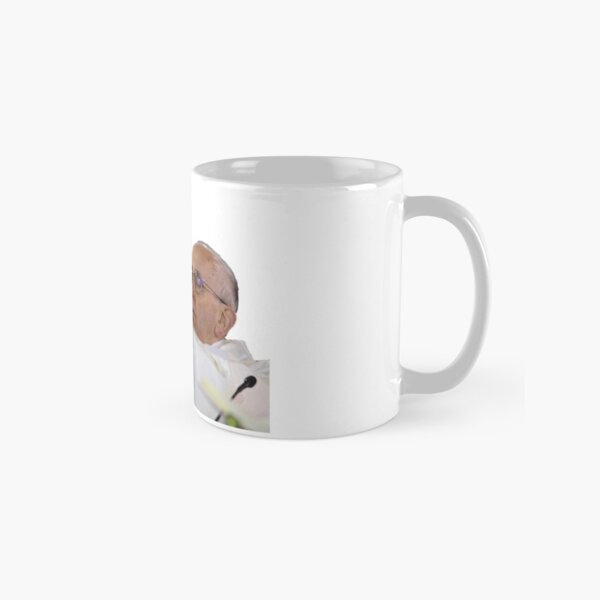 Pope Francis Loves Twilight Classic Mug