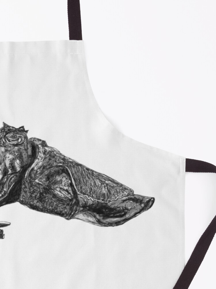 Alternate view of Clive the Cuttlefish Apron