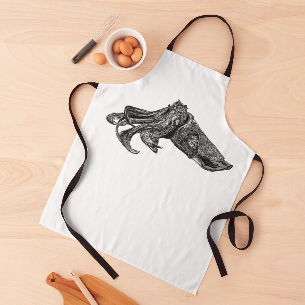 Clive the Cuttlefish Apron