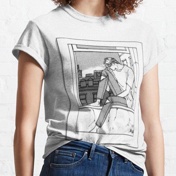 Pez plátano: Ceniza (amanecer) Camiseta clásica