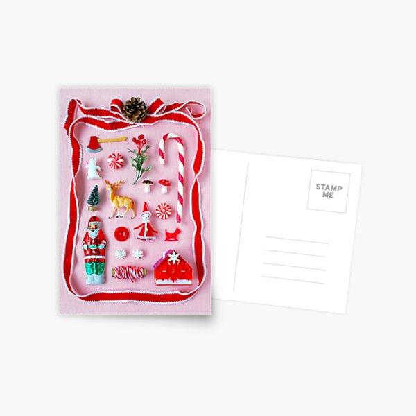 Weihnachtsminiaturen Postkarte