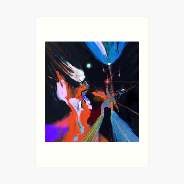 Lost in Dreamfields Far Away Art Print