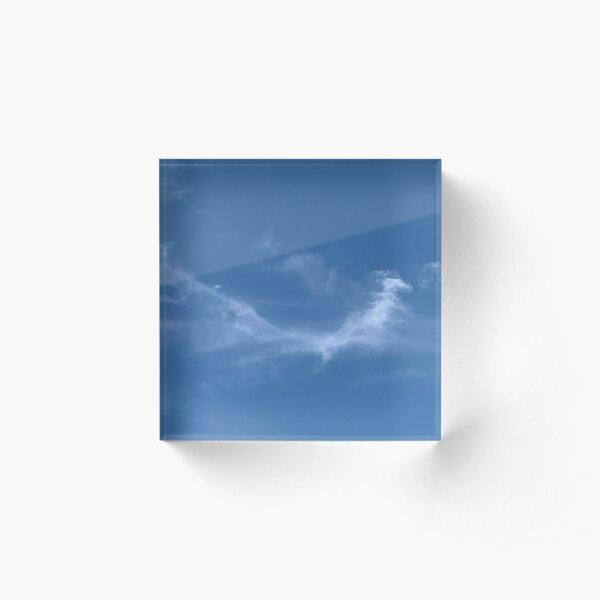 airy Acrylic Block