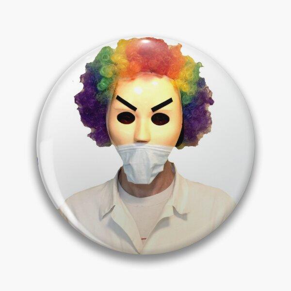 Dr. Clown Button Pin