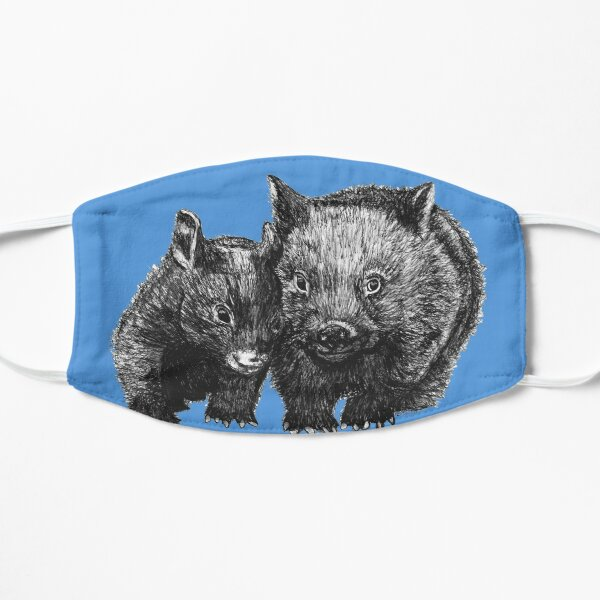 David and Betty Wombat Flat Mask