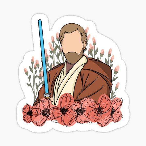 Daddy-Wan Kenobi Sticker