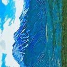 Denali Alaska Abstract Impressionism by pjwuebker