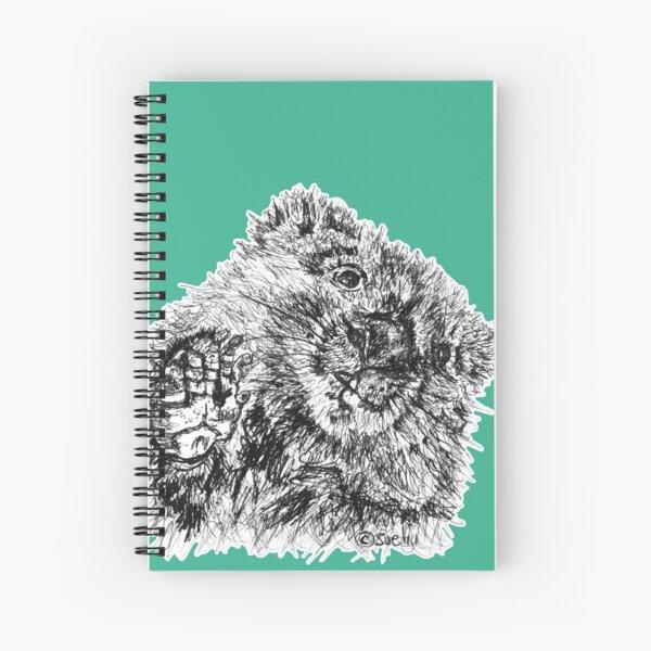 Willie the Wombat Spiral Notebook