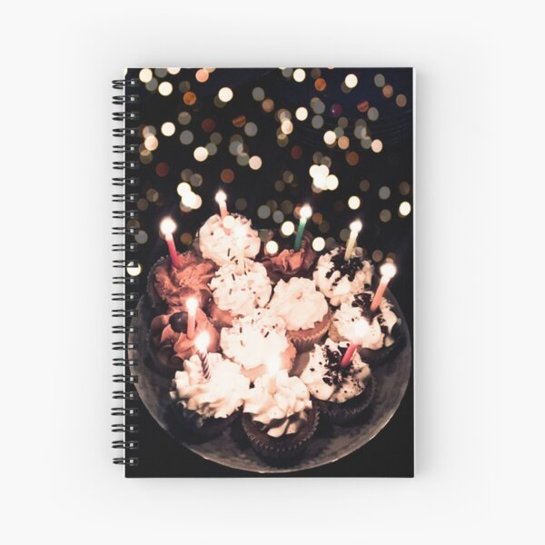 Cupcake Party  Spiral Notebook