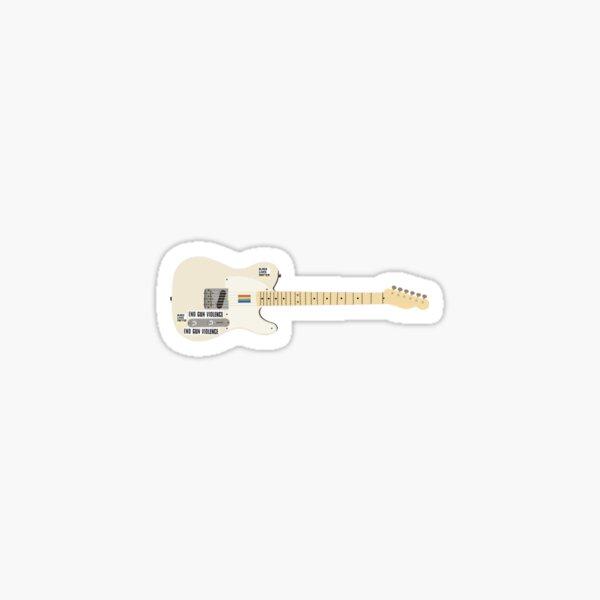 guitarra de harry Pegatina