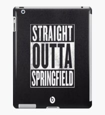 The Simpsons, Springfield iPad Case/Skin
