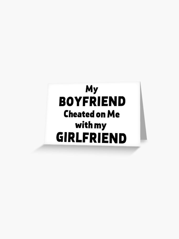 Freundin mit betrogen meine hat mich einem schwarzen Meine Freundin
