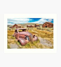 Historic Bodie Ghost Town Art Print