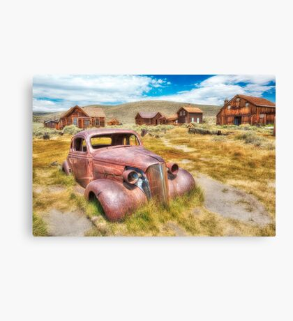 Historic Bodie Ghost Town Canvas Print