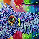 Street Wise Owl by Laura Barbosa