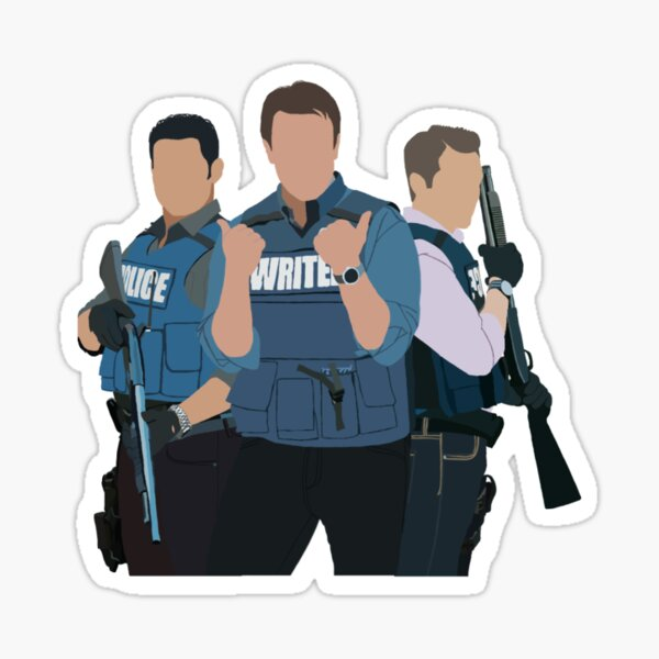 Castle, Ryan & Espo Sticker