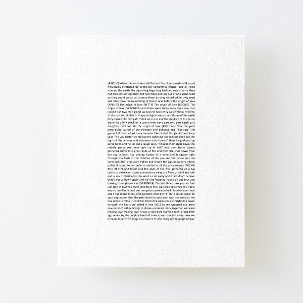 Complete Lyrics Wall Art Redbubble