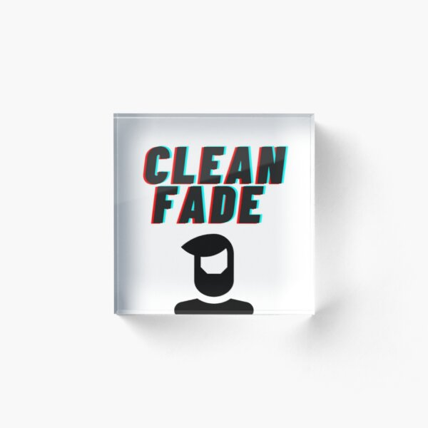 Clean Fade Acrylic Block