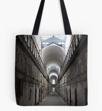 Solitary in the Cellblock - Beauty in Decay Tote Bag