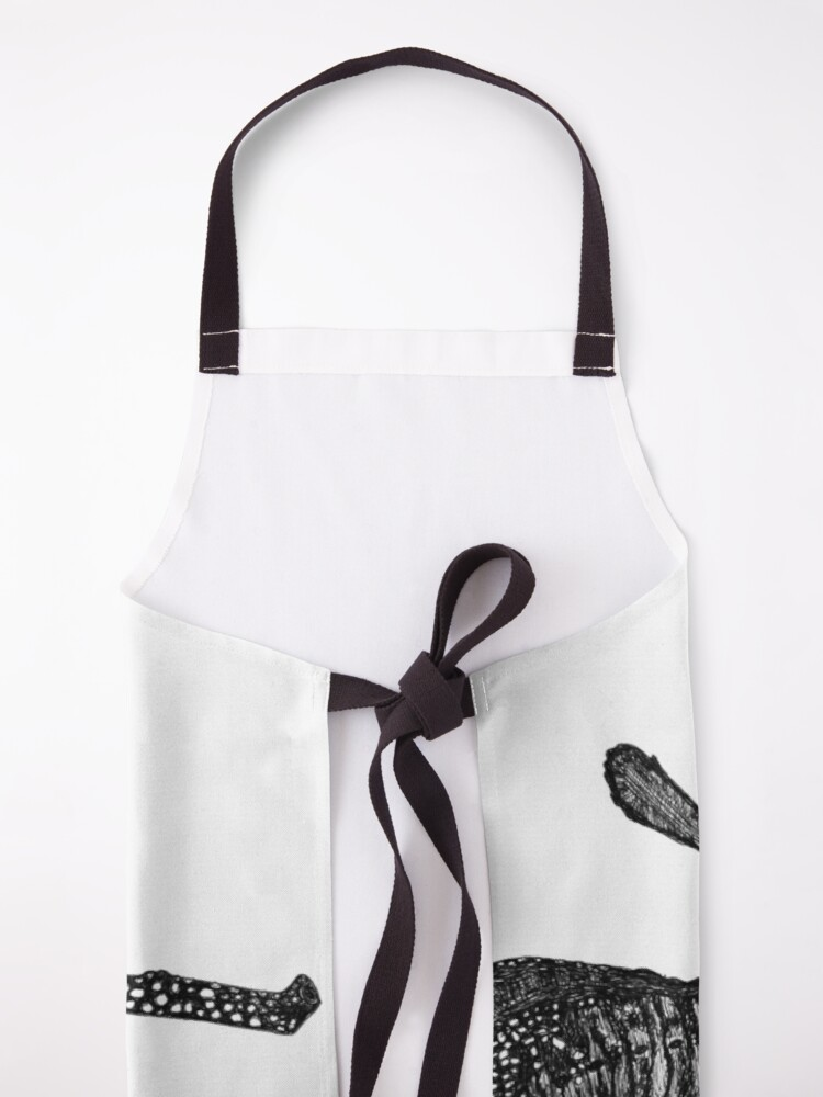 Alternate view of George the Weedy Sea Dragon Apron