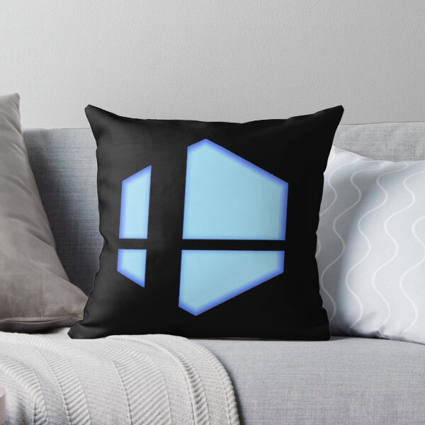 Smash Bros. Ultimate Shine Throw Pillow