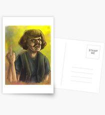 Murderface Watercolor Postcards