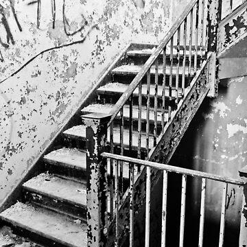 Abandoned Stairs by lanaxbug