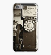 Cops are Listening iPhone Case/Skin