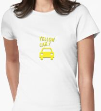 Yellow Car! Women's Fitted T-Shirt