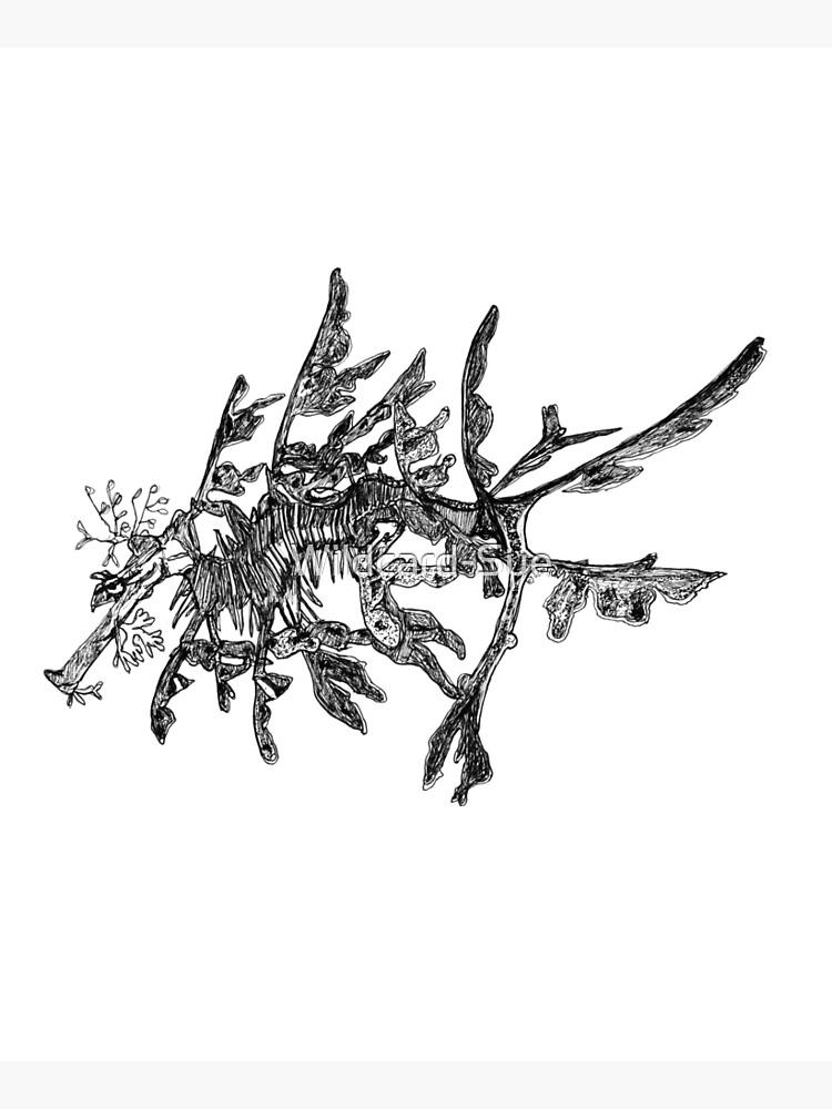 Jonesy the Leafy Sea Dragon  by Wildcard-Sue