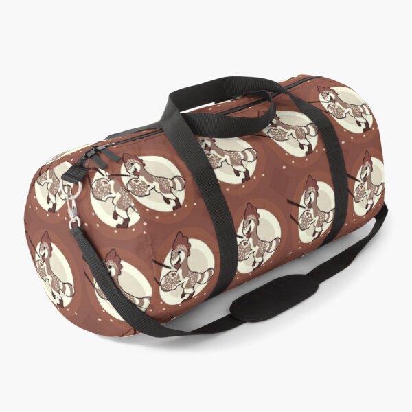 Sesame Mochi Raptor Duffle Bag