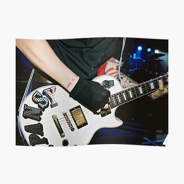 Frank Iero Guitar Poster