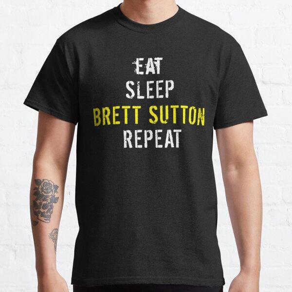 Eat Sleep Brett Sutton Repeat Classic T-Shirt