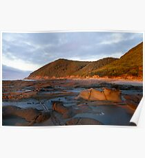 Lorne Rock Sculptures Poster