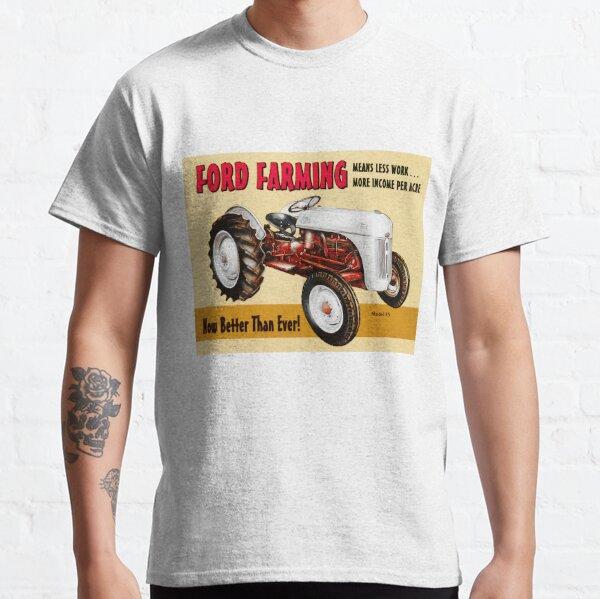 TRACTEUR FORD MODÈLE 8N ART T-shirt classique