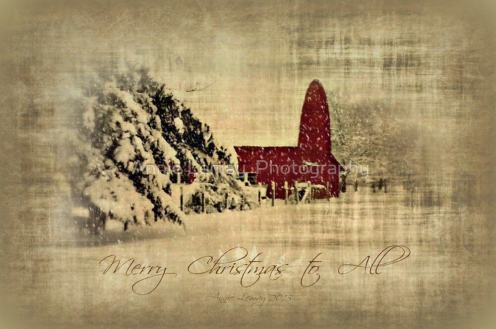 Merry Christmas and Happy Holidays to all! by Annie Lemay  Photography