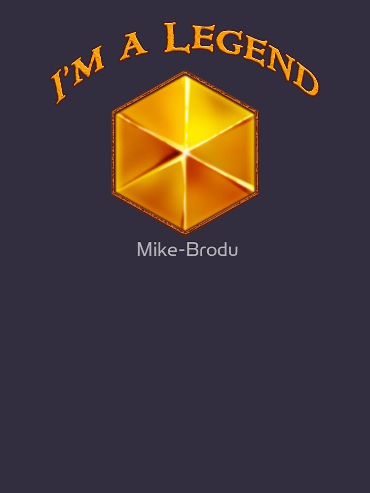 Soy una leyenda de Mike-Brodu