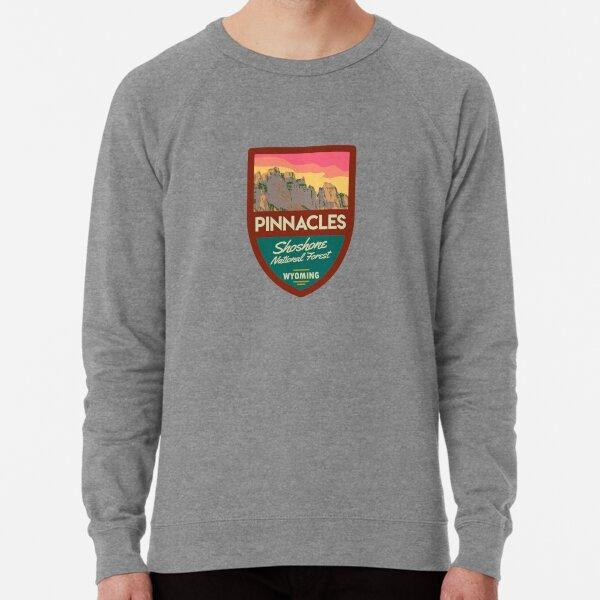 The Pinnacle Buttes, Wyoming Lightweight Sweatshirt