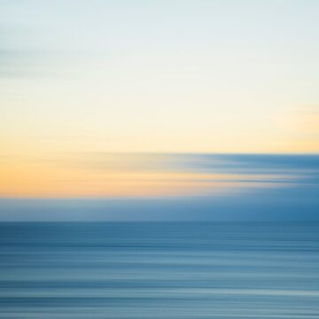 Abstract Ocean Sunrise by nicgfx