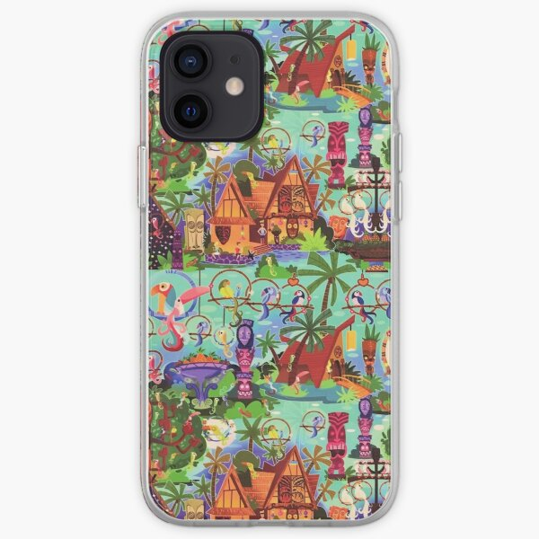 The ORIGINAL Enchanted Tiki Room Collage iPhone Soft Case