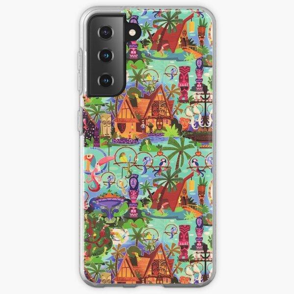 The ORIGINAL Enchanted Tiki Room Collage Samsung Galaxy Soft Case