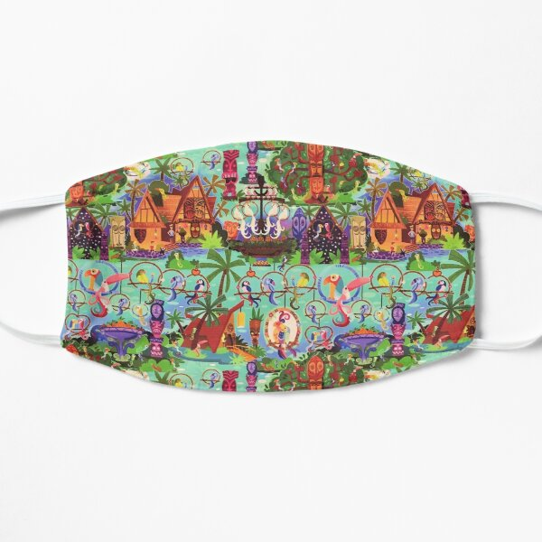 The ORIGINAL Enchanted Tiki Room Collage Mask