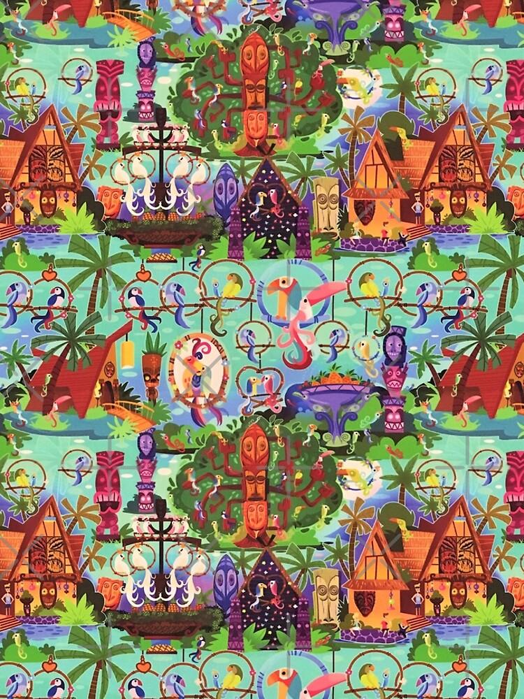 The ORIGINAL Enchanted Tiki Room Collage by Disney1955Fan