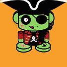Pirate Zombio'bot 1.0 by Carbon-Fibre Media