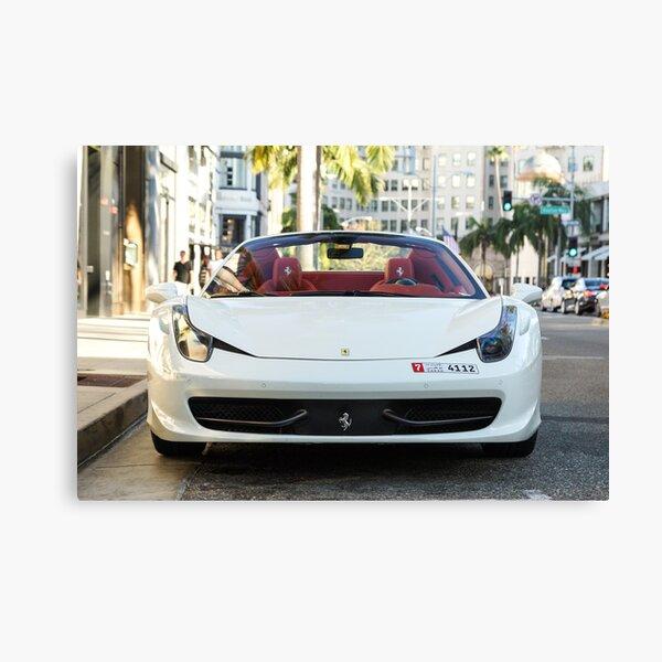 Ferrari 458 Spider Canvas Print