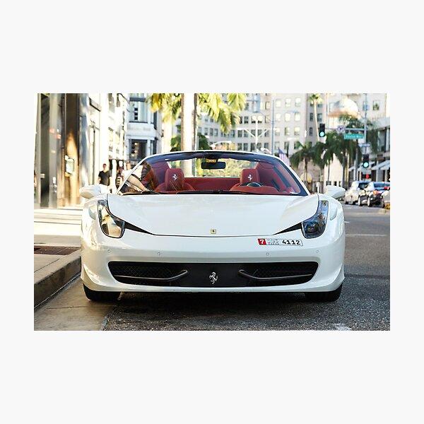 Ferrari 458 Spider Photographic Print