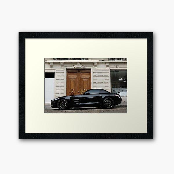 Mercedes-Benz SLS AMG Framed Art Print