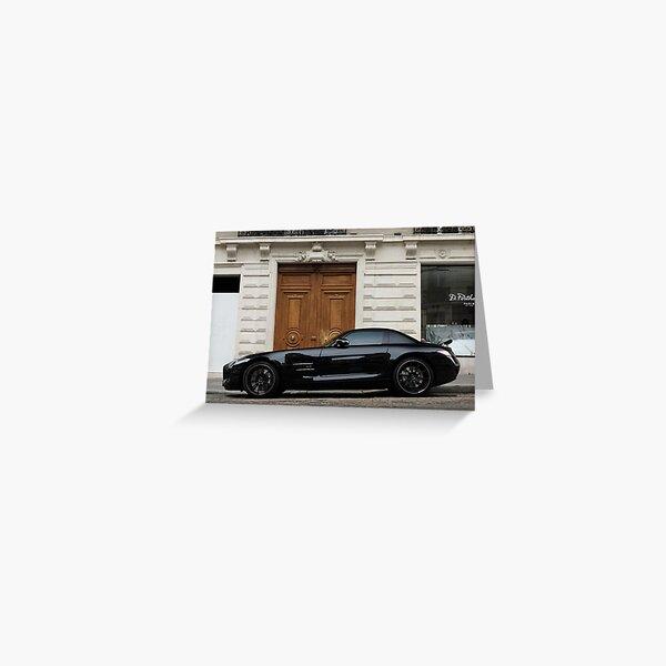 Mercedes-Benz SLS AMG Greeting Card