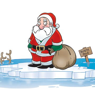 Global Warming Santa by jchat